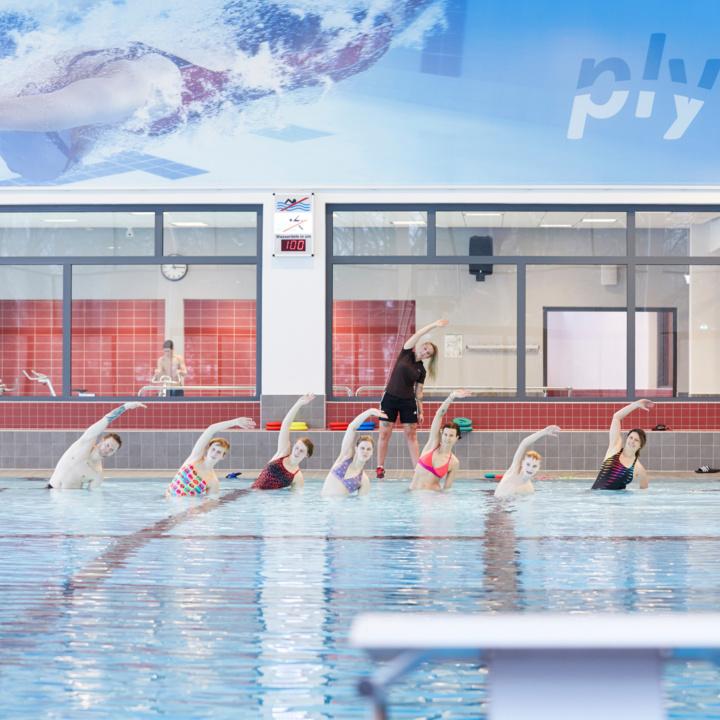 AquaFitness Bauch-Beine-Po