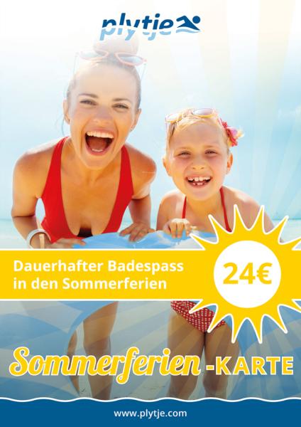 Sommerferien-Karte