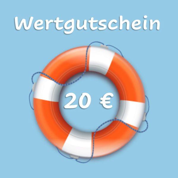 Wertgutschein 20 €