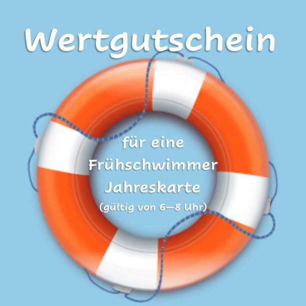 Frühschwimmer Jahreskarte